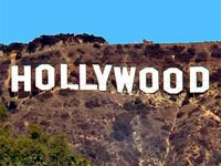 Hollywood California - home of the talking picture!